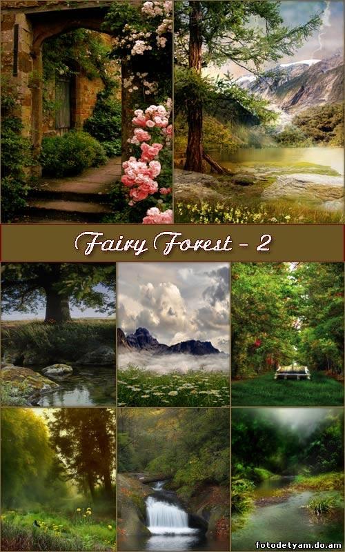 Сказочный лес.* )фоны для оформления.. Обсуждение на LiveInternet ... | 800x500